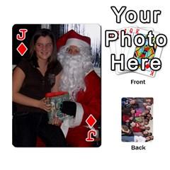 Jack Jeu De Cartes Amis 2010 By Edith Plante   Playing Cards 54 Designs   2f3hx21v8icu   Www Artscow Com Front - DiamondJ