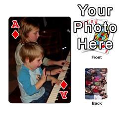 Ace Jeu De Cartes Amis 2010 By Edith Plante   Playing Cards 54 Designs   2f3hx21v8icu   Www Artscow Com Front - DiamondA