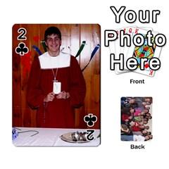 Jeu De Cartes Amis 2010 By Edith Plante   Playing Cards 54 Designs   2f3hx21v8icu   Www Artscow Com Front - Club2