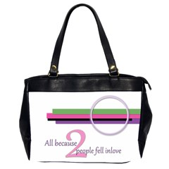 By Brooke Adkins (my Time Scraps)   Oversize Office Handbag (2 Sides)   Q6zzlc0rzyjk   Www Artscow Com Front