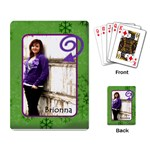 Brionna cards - Playing Cards Single Design