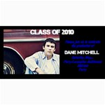 Dane s Grad Announcement - 4  x 8  Photo Cards