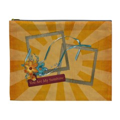 You Are My Sunshine Cosmetic Bag Xl By Mikki   Cosmetic Bag (xl)   Gxs4y8cuqlni   Www Artscow Com Front