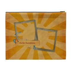 You Are My Sunshine Cosmetic Bag Xl By Mikki   Cosmetic Bag (xl)   Gxs4y8cuqlni   Www Artscow Com Back