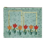 Tulips-cosmetic bag XL - Cosmetic Bag (XL)