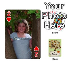 Newts Cards By Heather   Playing Cards 54 Designs   Ndul8co59gnd   Www Artscow Com Front - Heart2