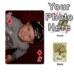 Jack Newts Cards By Heather   Playing Cards 54 Designs   Ndul8co59gnd   Www Artscow Com Front - DiamondJ