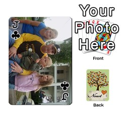 Jack Newts Cards By Heather   Playing Cards 54 Designs   Ndul8co59gnd   Www Artscow Com Front - ClubJ