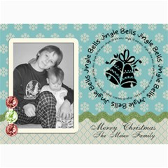 Merry Christmas Card 2 By Martha Meier   5  X 7  Photo Cards   Uhvlkdmwx5x0   Www Artscow Com 7 x5 Photo Card - 7