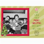 Fun christmas card 3 - 5  x 7  Photo Cards