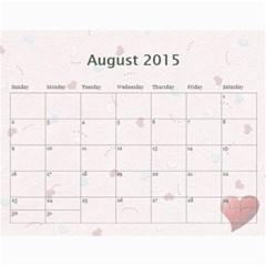 Calendar 2013   Family By Daniela   Wall Calendar 11  X 8 5  (12 Months)   D8a5vf8wcqmq   Www Artscow Com Aug 2015