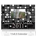 lambourne calendar - Wall Calendar 11  x 8.5  (12-Months)