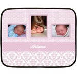 Simply Charming Pink Mini Fleece Blanket - Fleece Blanket (Mini)