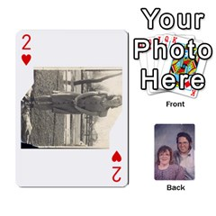 Eddie By Nancy   Playing Cards 54 Designs   Er0v2ani8xi7   Www Artscow Com Front - Heart2