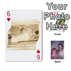 Eddie By Nancy   Playing Cards 54 Designs   Er0v2ani8xi7   Www Artscow Com Front - Heart6