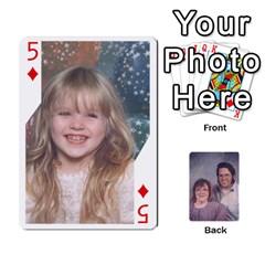 Eddie By Nancy   Playing Cards 54 Designs   Er0v2ani8xi7   Www Artscow Com Front - Diamond5