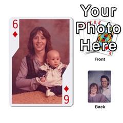 Eddie By Nancy   Playing Cards 54 Designs   Er0v2ani8xi7   Www Artscow Com Front - Diamond6