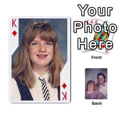 King Eddie By Nancy   Playing Cards 54 Designs   Er0v2ani8xi7   Www Artscow Com Front - DiamondK