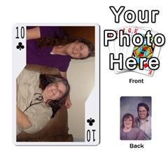 Eddie By Nancy   Playing Cards 54 Designs   Er0v2ani8xi7   Www Artscow Com Front - Club10