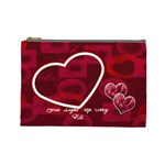 You Light Up My Life  Large Cosmetic Bag - Cosmetic Bag (Large)