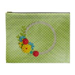 Cosmetic Bag (XL)- template flowers4