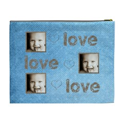 Love, Love, Love Extra Large Cosmetic Bag By Catvinnat   Cosmetic Bag (xl)   Irc7q9d1j7d4   Www Artscow Com Back