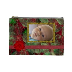 New Year Large Cosmetic Case 1 By Joan T   Cosmetic Bag (large)   2nqyuausz5pz   Www Artscow Com Front
