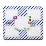Blue Stripes Custom Large Mousepad