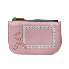 Breast Cancer Awareness Mini Coin Purse By Mikki   Mini Coin Purse   U7pjpbx2as9d   Www Artscow Com Front