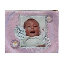 It s A Girl Xl Cosmetic/baby Stuff Bag By Lil    Cosmetic Bag (xl)   73qad4z2b7hl   Www Artscow Com Back