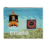 Pirate Pete cruise vacation extra large cosmetic bag - Cosmetic Bag (XL)