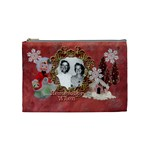Remember When Christmas Medium Cosmetic Bag - Cosmetic Bag (Medium)