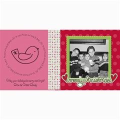 Merry Christmas Card 3 By Martha Meier   4  X 8  Photo Cards   Buchnmhl86j9   Www Artscow Com 8 x4 Photo Card - 2
