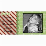 Merry Christmas card 4 - 4  x 8  Photo Cards