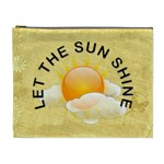 Let The Sun Shine XL Cosmetic Bag - Cosmetic Bag (XL)