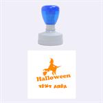 Halloween - Rubber Stamp Round (Medium)