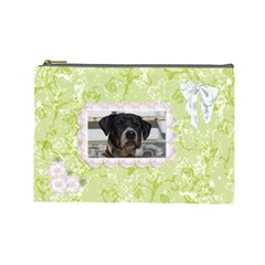 Celebration Large Cosmetic Case 1 By Joan T   Cosmetic Bag (large)   1auikr6cj4ez   Www Artscow Com Front