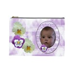 Pansy Large Cosmetic Case 1 - Cosmetic Bag (Large)
