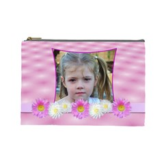Everlasting Large Cosmetic Case 2 By Joan T   Cosmetic Bag (large)   Up5z1c1tt786   Www Artscow Com Front