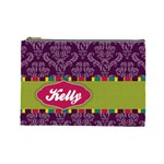 Bright Patterns Large Cosmetic Bag - Cosmetic Bag (Large)