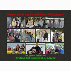 Zupancic Christmas Card 2010 By Deborah Zupancic   5  X 7  Photo Cards   Whaoivo75k1v   Www Artscow Com 7 x5 Photo Card - 11
