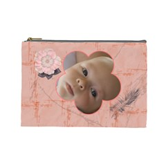 Sunset Large Cosmetic Case By Joan T   Cosmetic Bag (large)   Spvnphl4az01   Www Artscow Com Front