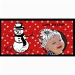 christmas cards - 4  x 8  Photo Cards