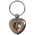 red love heart wedding keyring - Key Chain (Heart)