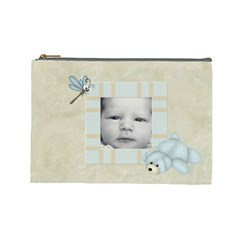 Little Boys Large Cosmetic Case 2 By Joan T   Cosmetic Bag (large)   6jp0cjucw89d   Www Artscow Com Front
