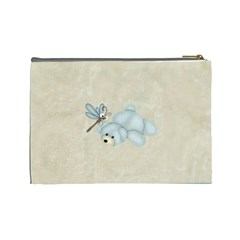 Little Boys Large Cosmetic Case 2 By Joan T   Cosmetic Bag (large)   6jp0cjucw89d   Www Artscow Com Back