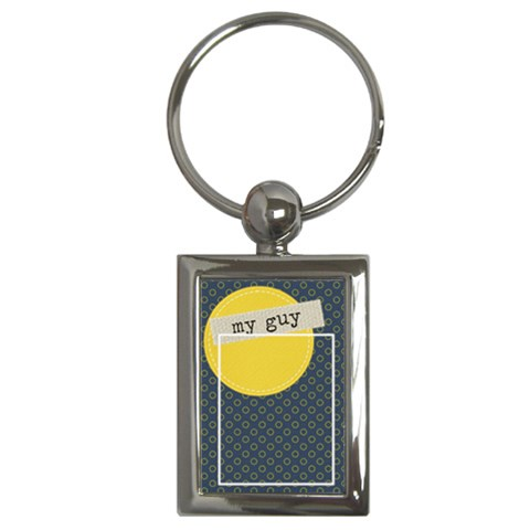Key Chain (rectangle)    My Guy By Jennyl   Key Chain (rectangle)   9un0q7t1rkgj   Www Artscow Com Front