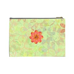 Melon Surprise Large Cosmetic Case 2 By Joan T   Cosmetic Bag (large)   Sya1gso51jla   Www Artscow Com Back
