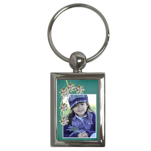 Key Chain (rectangle)   Flowers11 By Jennyl   Key Chain (rectangle)   Ascejggnrl6u   Www Artscow Com Front
