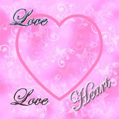 I Heart You Baby Pink Magic Cube By Ellan   Magic Photo Cube   Ysomfk4nw4nm   Www Artscow Com Side 5